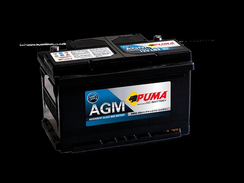 แบตเตอรี่รถยนต์ PUMA START STOP รุ่น AGM LN3