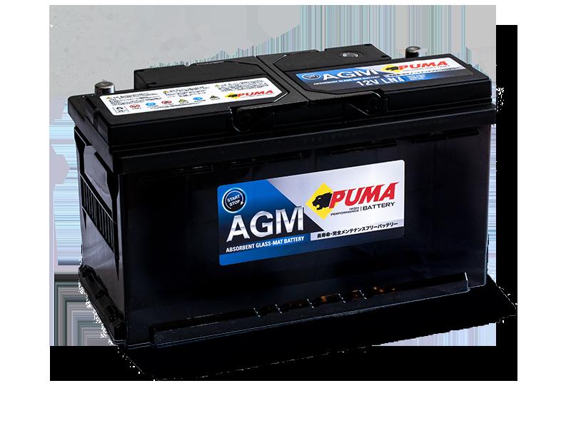 แบตเตอรี่รถยนต์ PUMA START STOP รุ่น AGM LN4