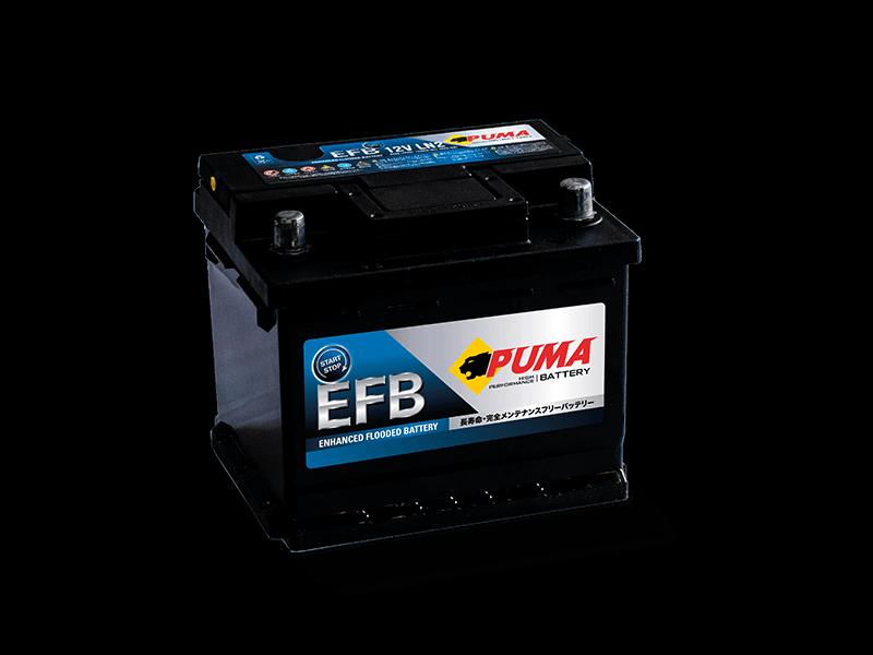 แบตเตอรี่รถยนต์ PUMA START STOP รุ่น EFB LN2