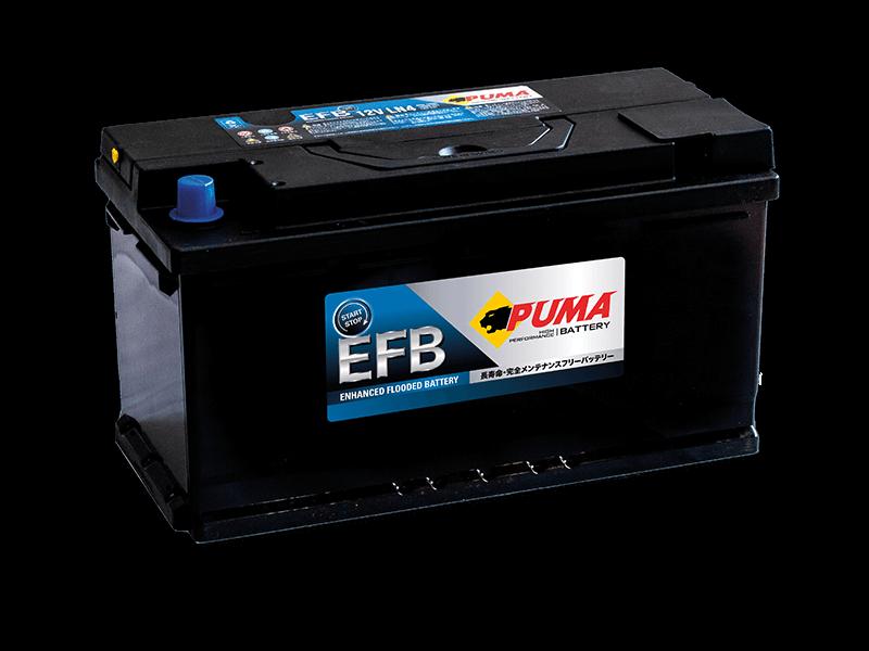แบตเตอรี่รถยนต์ PUMA START STOP รุ่น EFB LN4