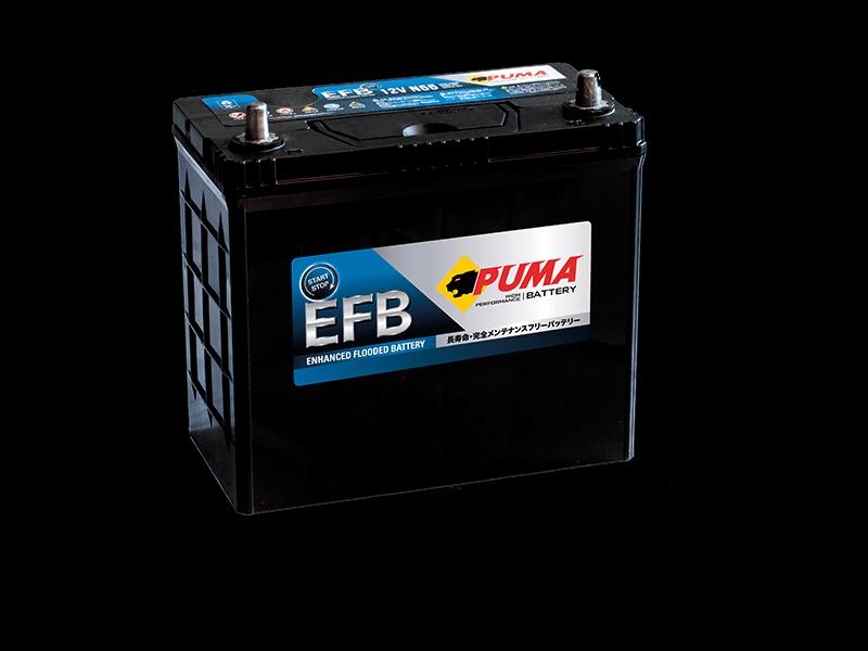 แบตเตอรี่รถยนต์ PUMA START STOP รุ่น EFB N55L
