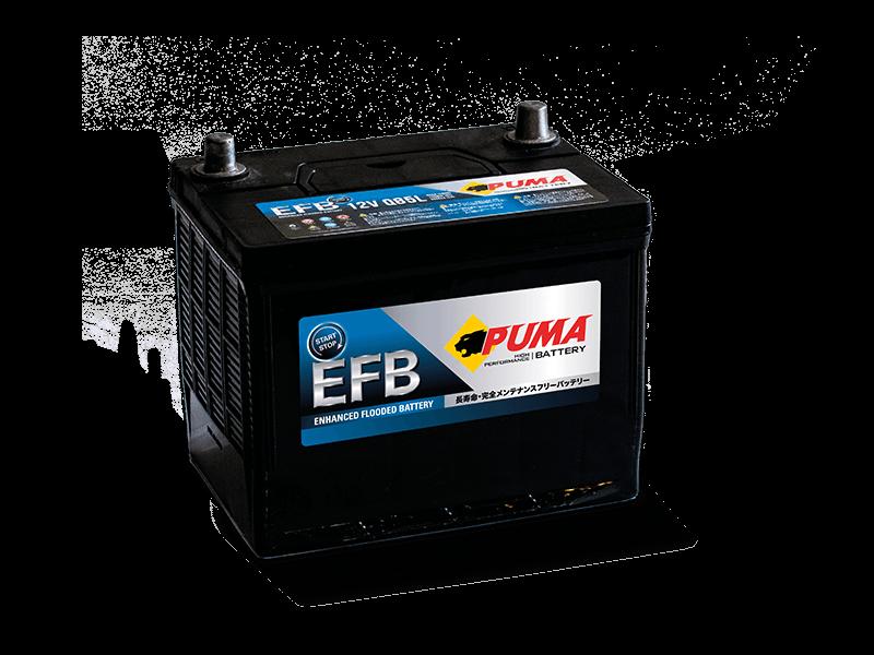 แบตเตอรี่รถยนต์ PUMA START STOP รุ่น EFB Q85L