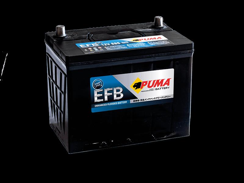 แบตเตอรี่รถยนต์ PUMA START STOP รุ่น EFB S95L