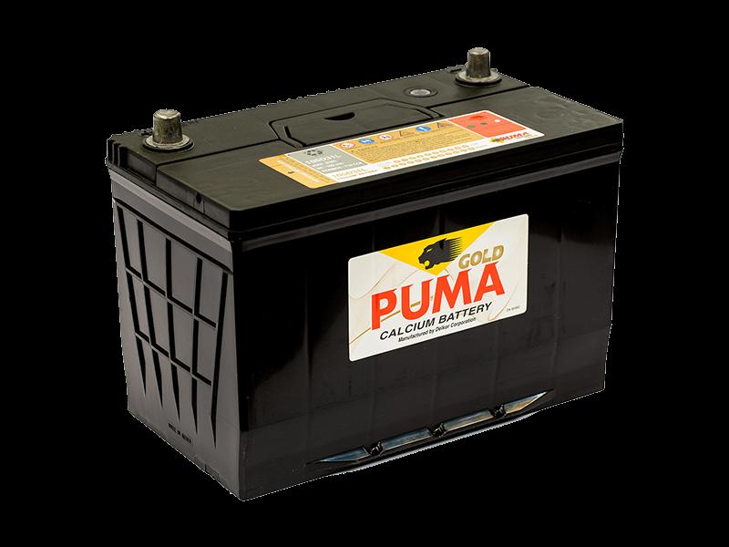 แบตเตอรี่รถยนต์ PUMA รุ่น 105D31L