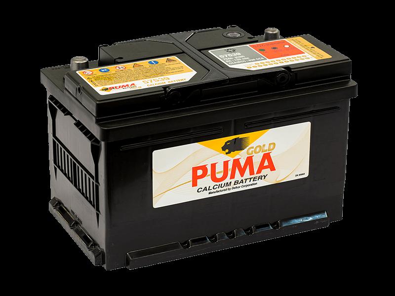 แบตเตอรี่รถยนต์ PUMA รุ่น 57539