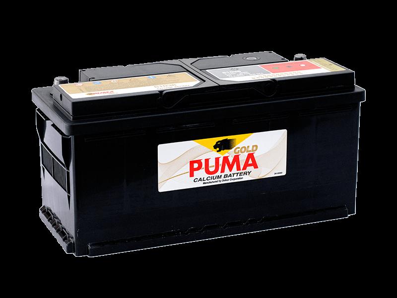 แบตเตอรี่รถยนต์ PUMA รุ่น 61038