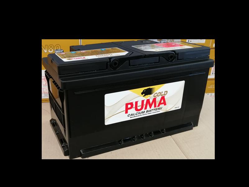 แบตเตอรี่รถยนต์ PUMA รุ่น DIN80