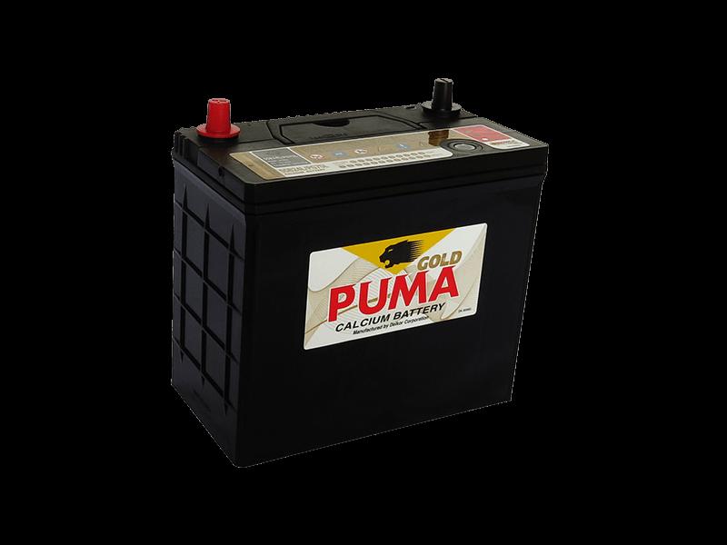 แบตเตอรี่รถยนต์ PUMA รุ่น 55B24L