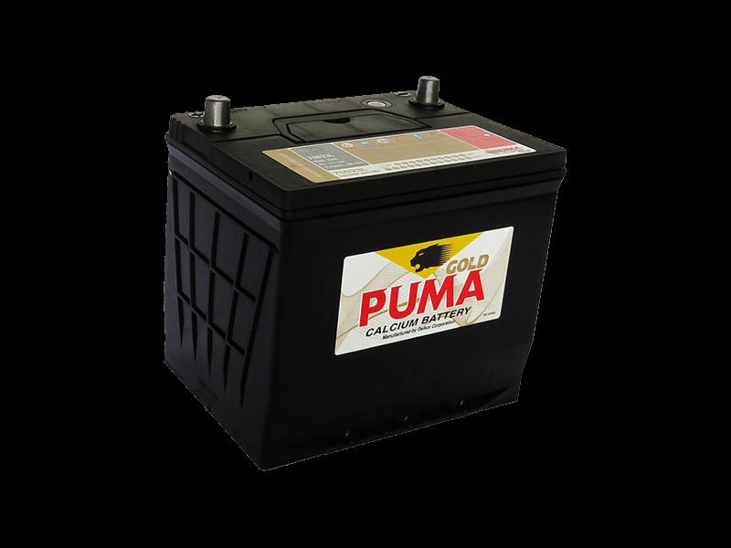 แบตเตอรี่รถยนต์ PUMA รุ่น 75D23L