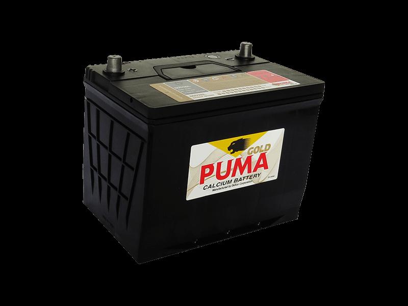 แบตเตอรี่รถยนต์ PUMA รุ่น 80D26L