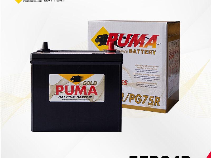 แบตเตอรี่รถยนต์ PUMA รุ่น 55B24R (PG75R) setbox