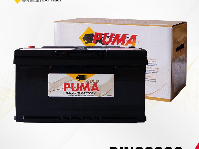 แบตเตอรี่รถยนต์ PUMA รุ่น DIN60038 boxset