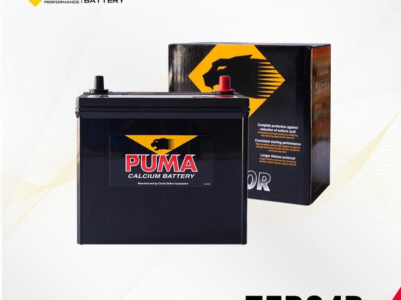 แบตเตอรี่รถยนต์ PUMA รุ่น 75B24R setbox