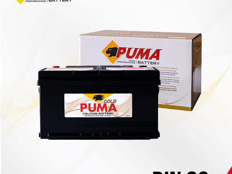 แบตเตอรี่รถยนต์ PUMA รุ่น DIN80 (58014) boxset