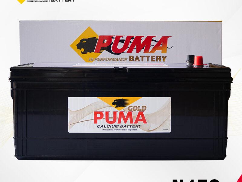 แบตเตอรี่รถยนต์ PUMA รุ่น N150 boxset