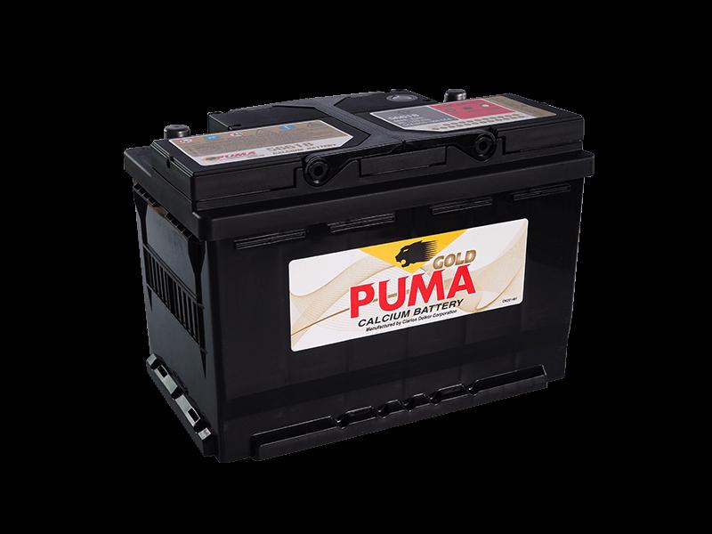 แบตเตอรี่รถยนต์ PUMA รุ่น  DIN56618
